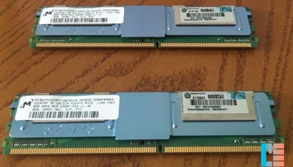 413015-B21 Memory PC2-5300F DDR2 16GB(2x8Gb) 2Rx4