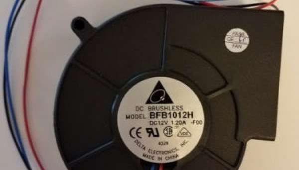 BFB1012H-F00 3-Wire 1.20a Blower Fan 12v DC
