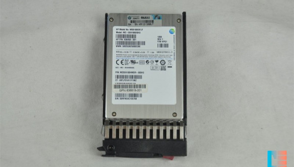 636458-001 SATA MLC 2.5in SC EM SSD 100GB 3G
