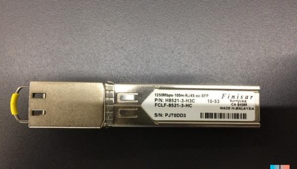 FCLF-8521-3-HC 1250MBPS-100M-RJ45-XX-SFP