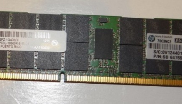 647901-B21 kit 2RX4 PC3L-10600 DDR3-1333 REG LP option 16GB (1X16GB)