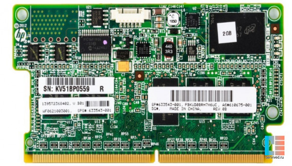 633543-001 for P-Series Smart Array 2GB FBWC