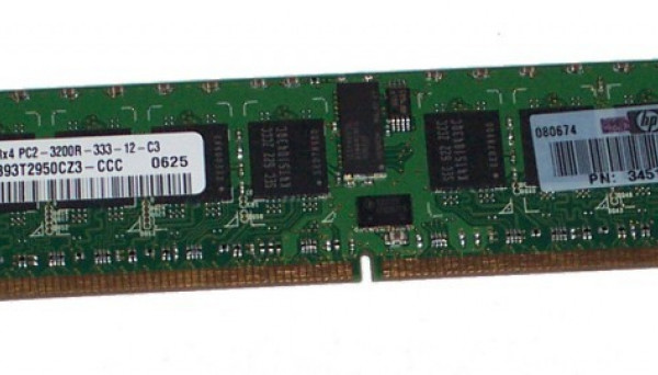 345113-851 Reg DDR2 SDRAM DIMM 1GB PC2-3200