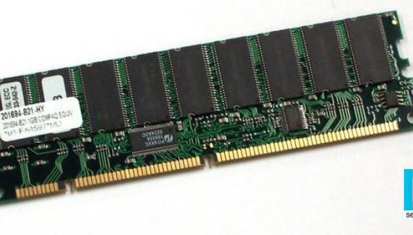 201694-B21 2x512Mb 133MHz ECC SDRAM buffered DIMM 1GB Kit