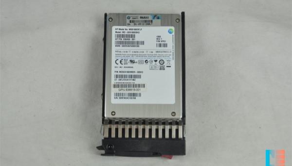 636619-002 SATA MLC 2.5in SC EM SSD 100GB 3G