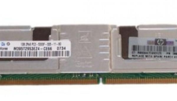 416471-001 FBDIMM для BL680c G5, BL460c Series 1GB PC2-5300