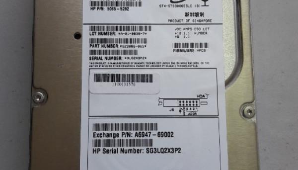 A6845-69002 rpm Ultra320 SCSI RP24X0 18.2GB, 15K