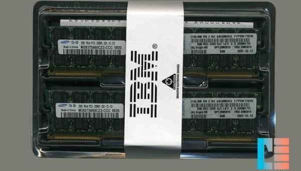 39M5809 (2x1GB) ECC DDR2 Chipkill SDRAM RDIMM 2GB PC2-3200