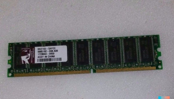 KK2143-SAFCC 184-Pin DDR400 CL3 256MB PC3200