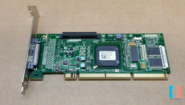 2093500-R 128Mb SINGLE U320, RAID 0,1,01,5, 1channel, 15dev., (PCI-X, LP)