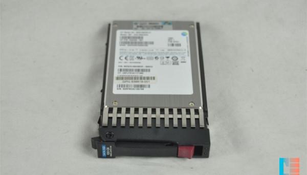 653965-001 SATA MLC 2.5in SC EM SSD 100GB 3G