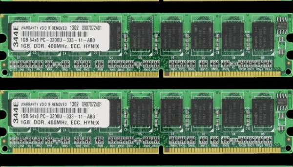 06P4058 IS6220/IS6230.x206.x306 CL3 ECC DDR UDIMM 1024MB PC3200
