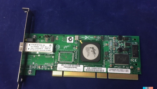 FC5010409-21 A optic FC HBA, 133MHZ PCI-X, LC multi-mode 2Gb SP
