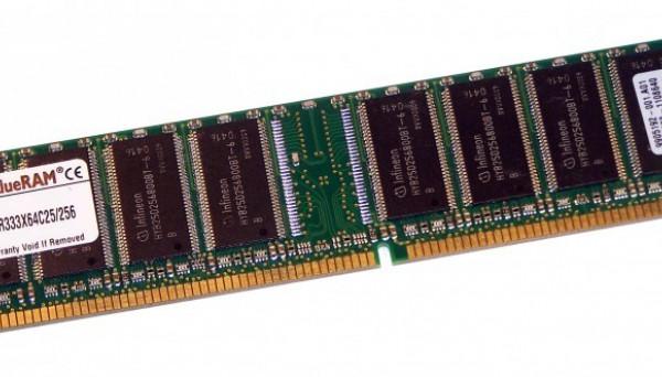 KVR333X64C25/256 CL2.5 DDR Non-ECC 256MB 333MHz
