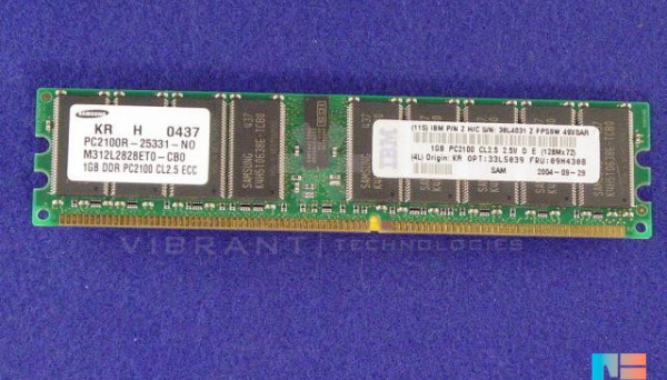 33L5039 PC2100 ECC DDR Reg для серверов xSeries 235.345 1024MB SDRAM