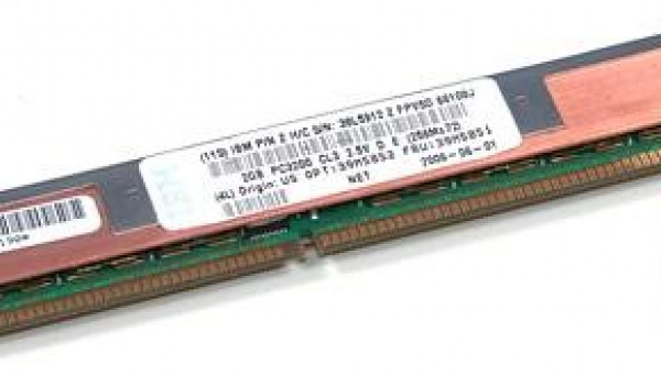 39M5851 VLP CL3 ECC DDR SDRAM 2GB PC-3200