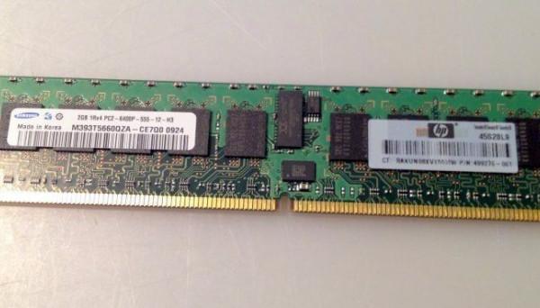 501157-001 DDR2 для BL495c G5, BL685c G5, BL465c G5 2Gb PC2-6400
