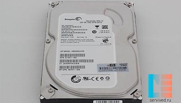 571232-B21 HDD NSATA Entry 250GB 7.2K