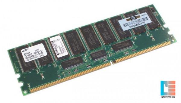175919-042 ML5xxG2 DDR1600 для 1GB REG