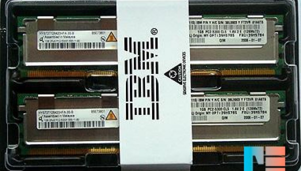39M5785 DDR2 PC2-5300 667MHZ 240PIN ECC FB-DIMM 2Gb (2x1GB)
